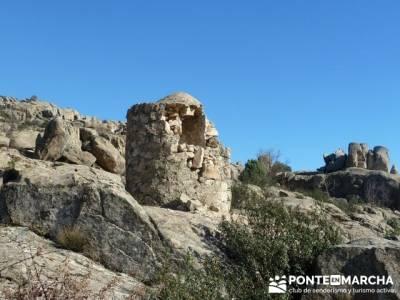 Senderismo Sierra Norte Madrid - Belén Viviente de Buitrago; senderismo valladolid